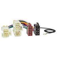 Radio Adapter Kabel kompatibel mit Nissan 100 200 300 Almera Micra Primera bis 2000 auf 16pol ISO Norm