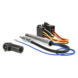 Radio Adapter Kabel ISO auf ISO kompatibel mit Audi Seat...