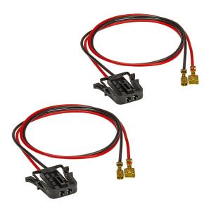 Lautsprecheradapter (2er Set) auf DIN kompatibel mit VW...