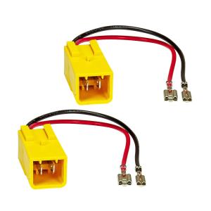 Lautsprecheradapter 2er Set auf DIN kompatibel mit Alfa...