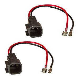 Lautsprecheradapter (2er Set) auf DIN kompatibel mit Ford...