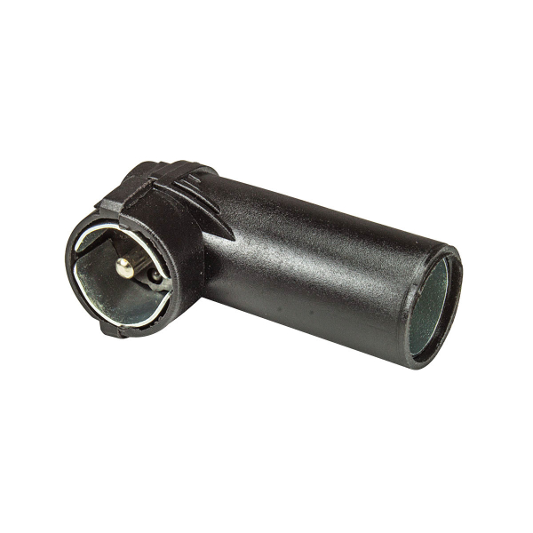 Antennenadapter DIN 150 OHM auf ISO 50 OHM alt auf neu Winkelstecker Kunststoffmantel