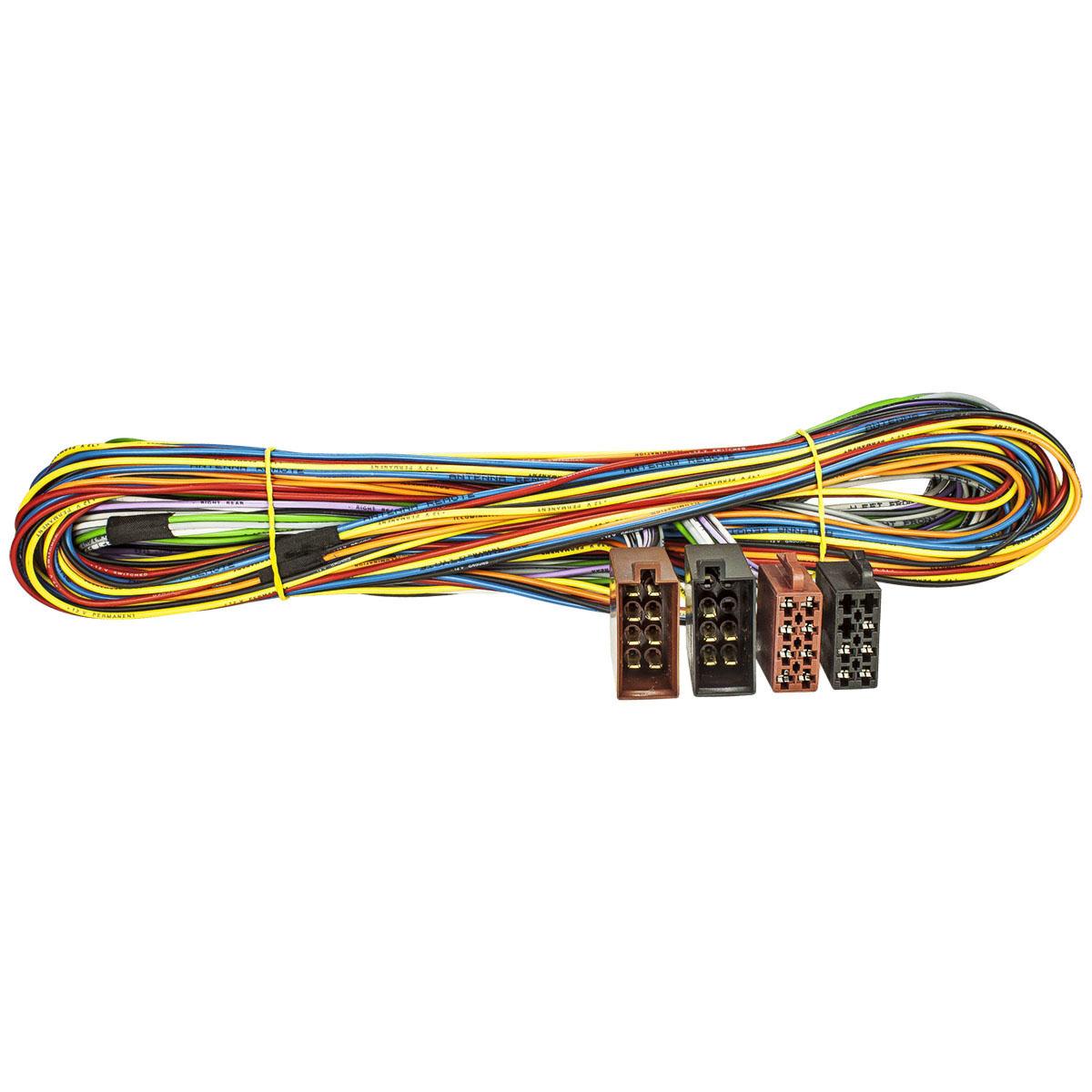 Radioadapterkabel f/ür Volvo auf ISO S40 V40 S60 S70 V70 S80