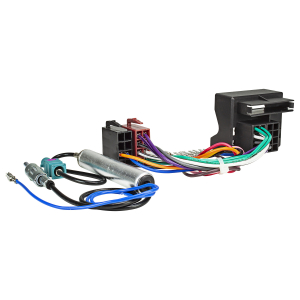 Radio Adapter Kabel Quadlock auf ISO universal steckbare...