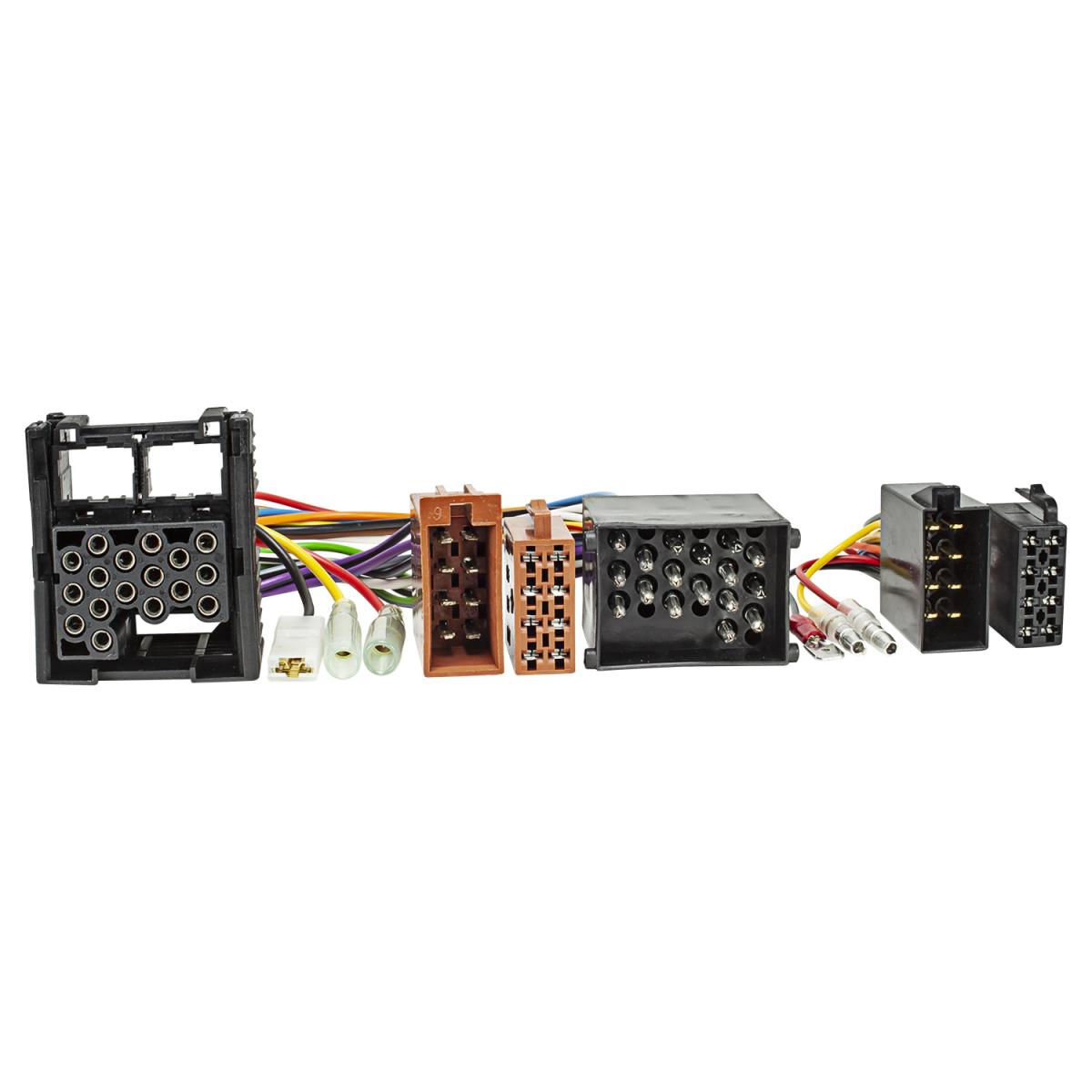 ISO DIN Kabel passend für Land Rover Defender 2 ab 2001 Rundpin Radioadapter