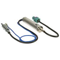 Fakra Antennenadapter mit Phantomeinspeisung kompatibel mit Audi Citroen Fiat Peugeot Seat Skoda Opel VW auf DIN