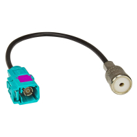 Fakra (F) Antennenadapter Kupplung auf ISO (F) Buchse