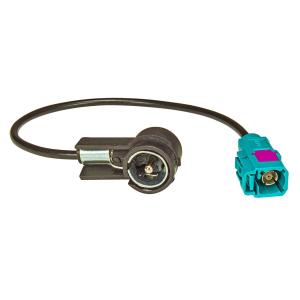 Fakra (F) Antennenadapter Kupplung auf ISO (M) Stecker 50...