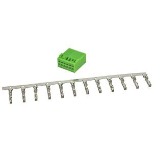 Power Quadlock Stecker grün 12 poliges Montage Set...