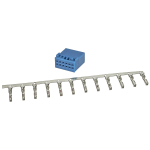 Power Quadlock Stecker blau 12 poliges Montage Set incl....