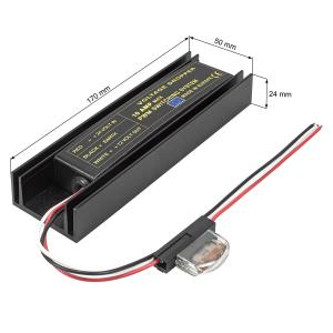 Spannungswandler Inverter 24V auf 12 Volt 10A für...