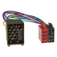 Radioblende Set kompatibel mit BMW 3er E46 mit Radioadapter ISO (alter Rundpin Anschluss) Antennenadapter DIN