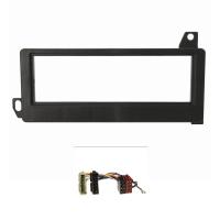 Radioblende Set kompatibel mit Chrysler Jeep Voyager Cherokee Wrangler Neon Vision mit Radioadapter ISO