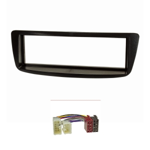 Radioblende Set kompatibel mit Toyota Aygo schwarz mit...