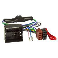 Radioblende Set kompatibel mit Audi A3 8P 8PA schwarz mit Aktivsystemadapter Quadlock ISO Fakra Antennen Phantom Adapter DIN Modelle mit Symphony Concert oder Chorus