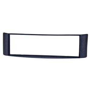Radioblende kompatibel mit Smart fortwo (450) 1998-2007 blau mit Metallschacht