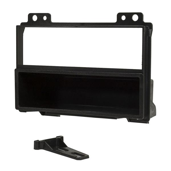 Radioblende kompatibel mit Ford Fiesta JH1/JD3 Ford Fusion JU2 Fz. vor Facelift schwarz