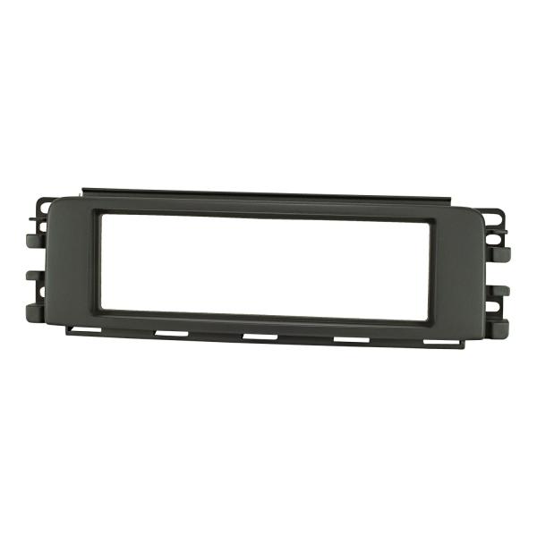 Radioblende kompatibel mit Smart ForFour 454 anthrazit/schwarz