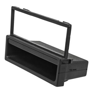 Radioblende kompatibel mit Mazda MX-5 323 626 schwarz