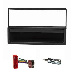 Radioblende Set kompatibel mit Mazda MX-5 323 626 schwarz...
