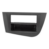 Radioblende kompatibel mit Seat Leon 2 (1P) 2005 bis 2012 schwarz
