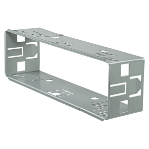 Autoradio Einbaurahmen 1DIN Metallschacht Rahmen 182x53mm...