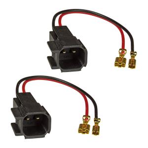 Lautsprecheradapter (2er Set) auf DIN kompatibel mit Opel...