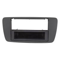 Radioblende kompatibel mit Seat Ibiza 6J 2008-2013 anthrazit schwarz